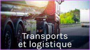 Les métiers du transport de la logistique