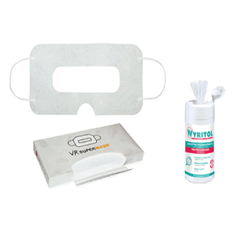 Pack Hygiène pour casque de réalité virtuelle