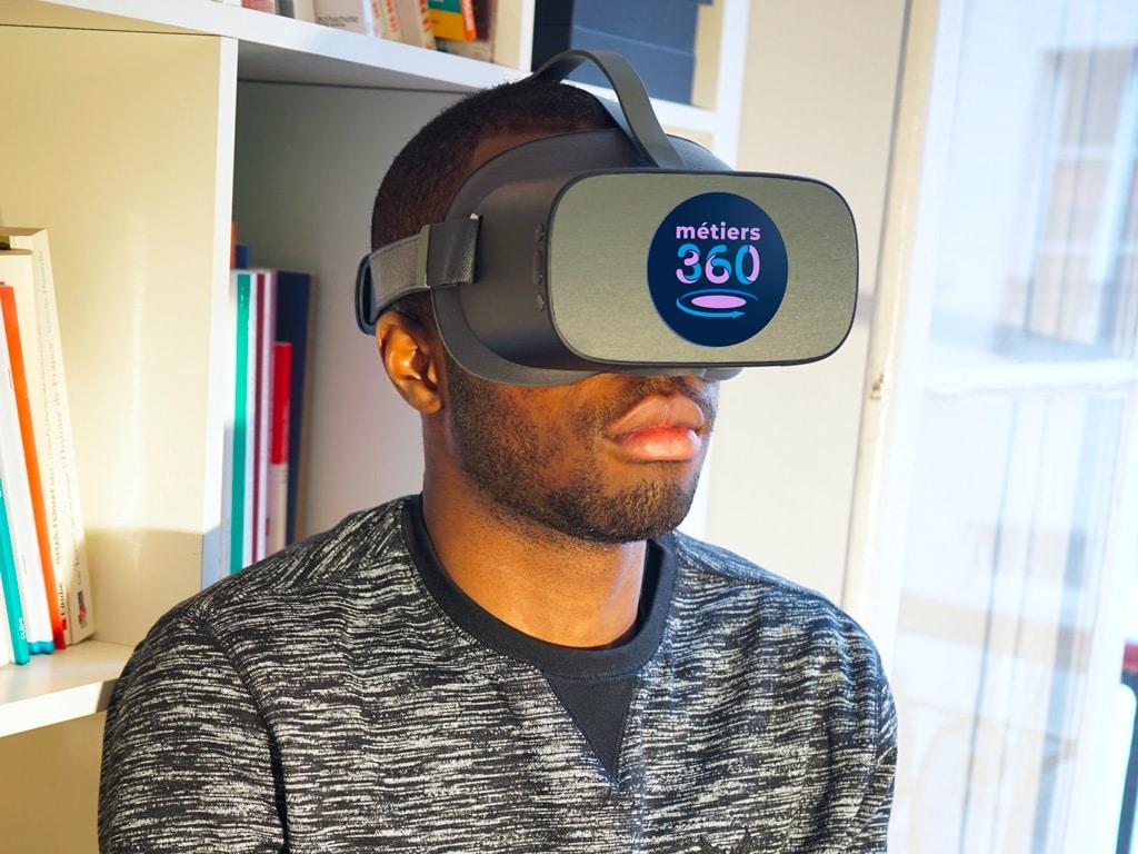Découverte des metiers en réalité virtuelle