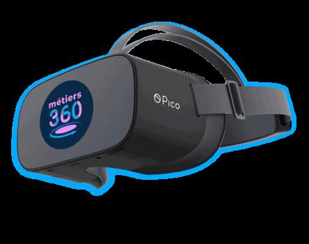 La réalité virtuelle pour la découverte des métiers